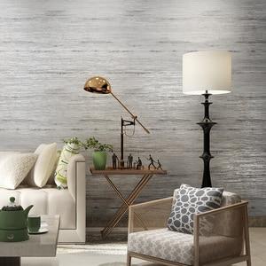 Image 4 - Papel tapiz metálico de mármol para decoración del hogar, papel tapiz liso de diseño Simple para dormitorio y sala de estar