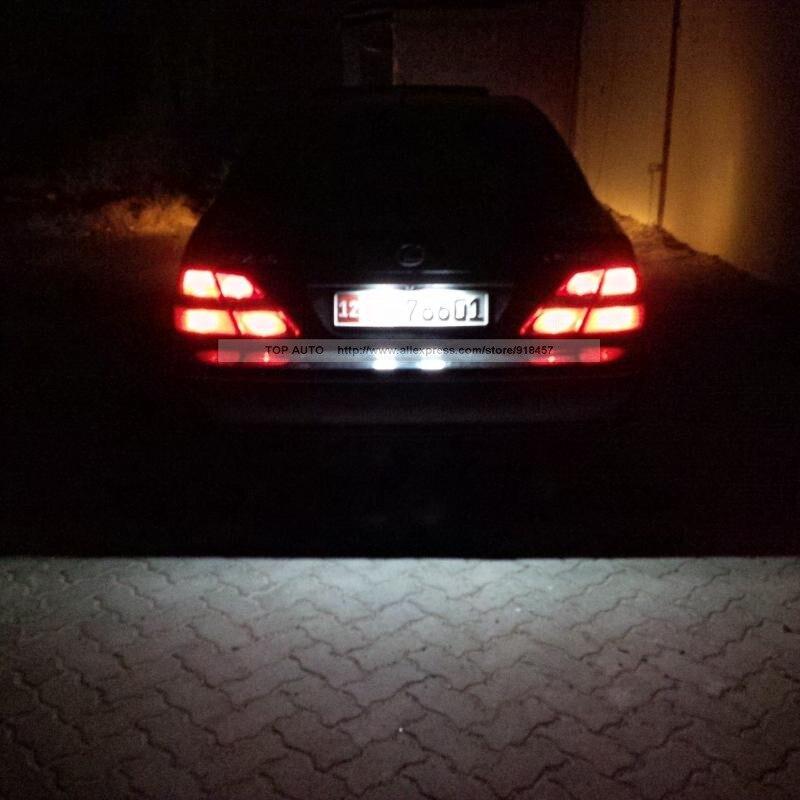Fehlerfrei Weiß OEM Ersatz LED Anzahl Kfz kennzeichen licht lampe ...