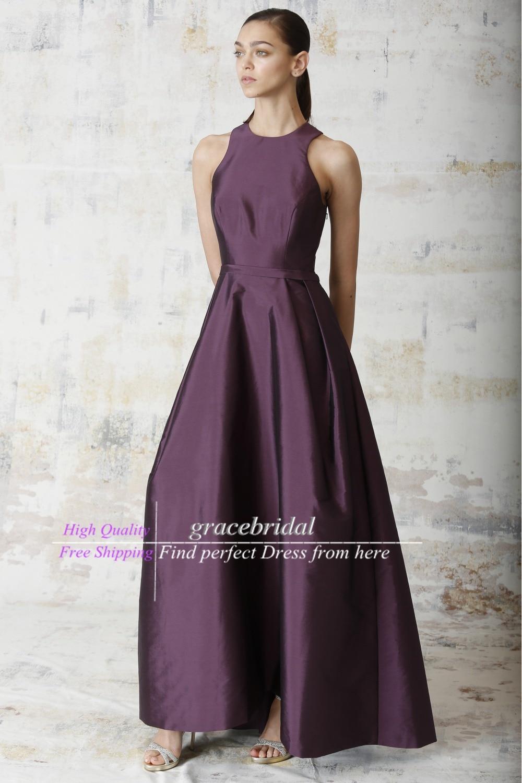 Aubergine Color Bridesmaid Dresses - Ocodea.com