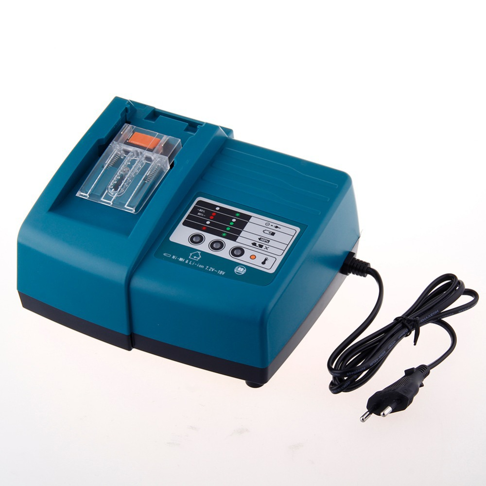 Replacement Power tool battery charger for Makita BL1830 Bl1430 DC18RC DC18RA free shipping high quality brand new 3000mah 18 volt li ion power tool battery for makita bl1830 bl1815 194230 4 lxt400 charger