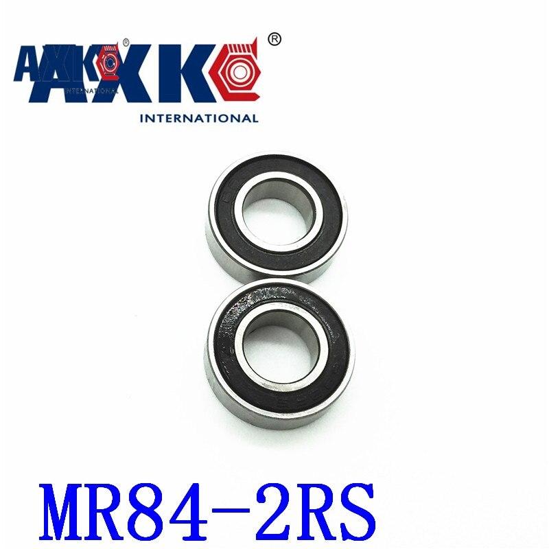 AXK Free shipping 50 piece/lot miniature bearing WML4008-2RSX, L-840-2RS,MR84-2RS,WBC4-8-2RSA 4X8X3mm Shigh precision free shipping 10pcs mr62zz mr63zz mr74zz mr84zz mr104zz mr85zz mr95zz mr105zz mr115zz mr83zz miniature bearing