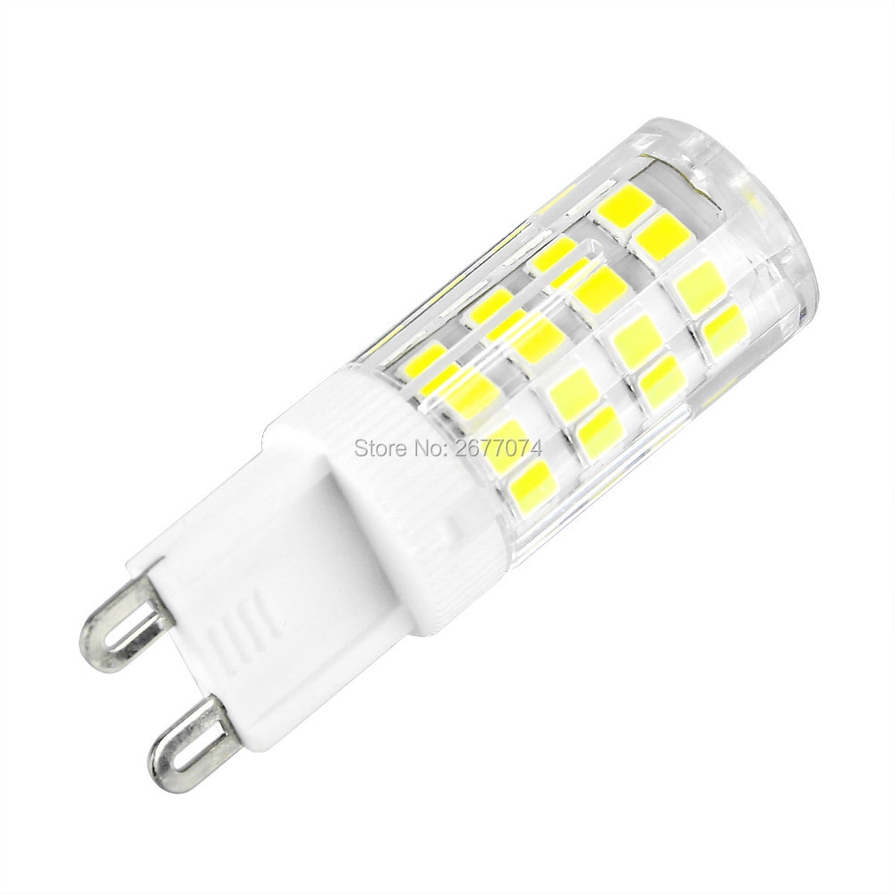 Light Bulbs G9 4w 220v Led Lamp Bulb 48led Smd 2835 Replacement Halogen Spotlight Corn Silicone Light We Have Won Praise From Customers