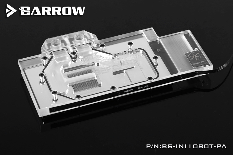 Barrow BS-INI1080T-PA Water Cooling Block for Inno3D ICHLL 1080Ti/1080/1070Ti/1070 X4 цена