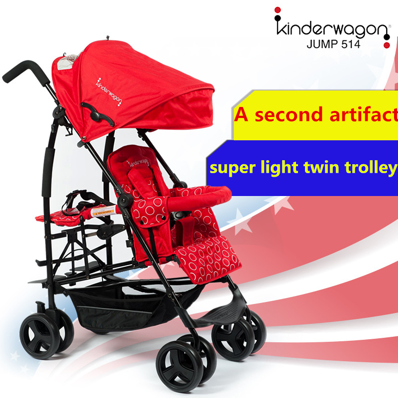 kinderwagon light twins baby stroller pram travel car export Order is sent today twins stroller double stroller super twins stroller carrier pram buggy leader handcart ems shipping