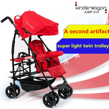 kinderwagon light twins baby stroller pram travel car export Order is sent today