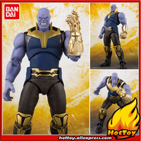 100% Original BANDAI Tamashii Nations S.H.Figuarts SHF Action Figure Thanos from Avengers: Infinity War