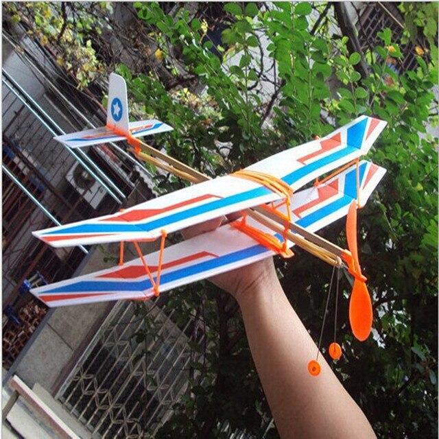 Tensible moteur avion inertiel mousse planeur avion jouet PBiplane modèle plein air jouet jouets éducatifs