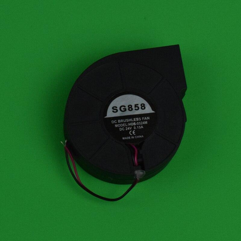 1PCS 24V 0.15A DC Brushless Fan Hot Air Gun Handle  For Eruntop 8586 858D+