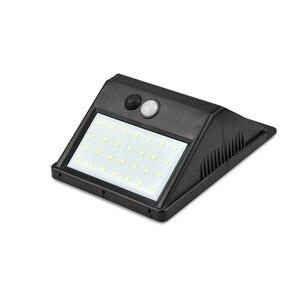 Image 2 - LED Güneş Gece Lambası Açık PIR Hareket Sensörü Güneş Enerjisi LED duvar lambası Için Ayrılabilir Yard Bahçe Kapı Yolu güvenlik aydınlatması