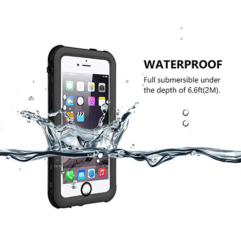 Redpepper Sealed Waterproof Case For iPhone 5 5S SE Shockproof case (5)
