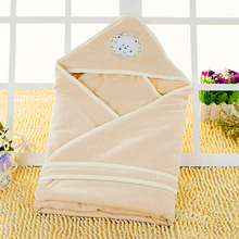 Modern Burlap Infant Organic Baby Blankets Toddler Bedding Naninha Polar Fleece Bathrobe Cotton Blanket Baby Basket