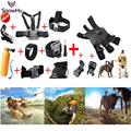 Gopro Accessories Gopro Tripod Dog Chest Head Strap Monopod The dog for Go pro Hero 5 4 3+2 xiaomi yi action camera sjcam GS22B