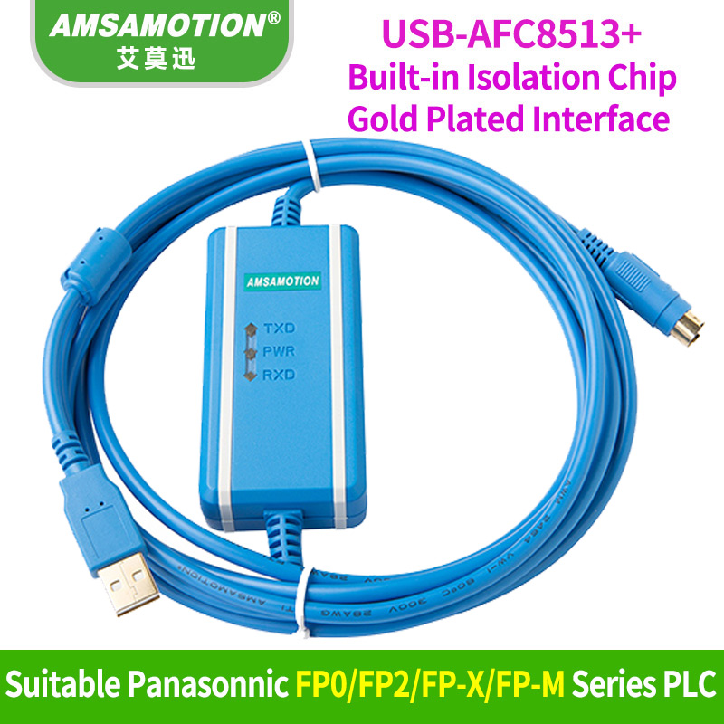 USB-AFC8513 Programming Cable Suitable Panasonic FP0//FP2//FP-X//FP-M series PLC