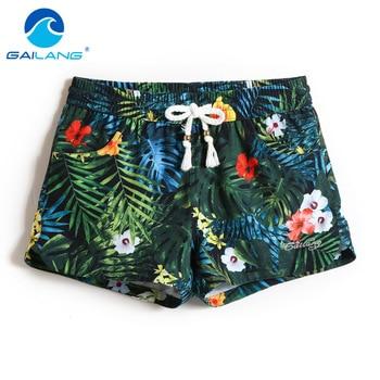 Gailang Brand Women Shorts Board Boxer Trunks Shorts Woman Swimwear Swimsuits Boardshorts Casual Quick Drying Shorts Gay