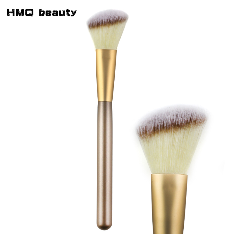 HMQ Angled Bronzer Brush Synthetic Face Contour Blush Foundation Powder Makeup Brushes Professional Cosmetics Make Up Brushes