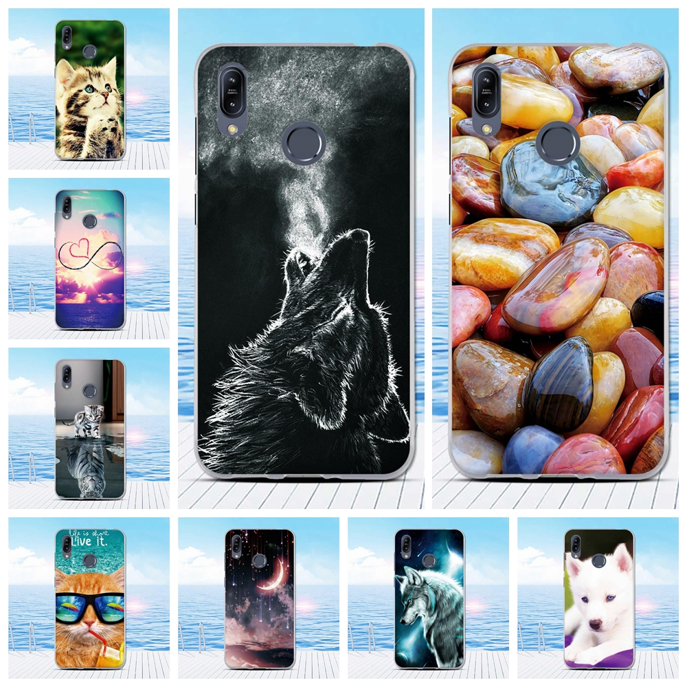 Cover For Asus Zenfone Max M2 ZB633KL Back TPU Case Cute Pattern For Asus Max ZB633KL Thin Silicone For Asus max ZB633KL Bumper
