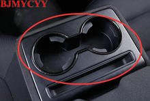 BJMYCYY Car styling Rear sewerage cup decoration frame For 2017 Mazda CX-5 CX5 Accessories