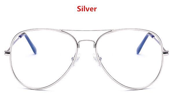 bd808f1ee88 JinCool Pilot Style Metal Glasses Men Women 2016 Fashion Eyeglasses Frames  Optical Myopic Computer Glasses Frame Oculos S326-in Eyewear Frames from  Apparel ...