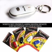 Mini Anti-lost Whistle Key Finder Flashing Beeping Remote Bag Wallet Locators