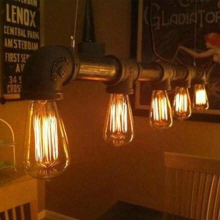 European Retro Plumbing Fixtures Study Lamp