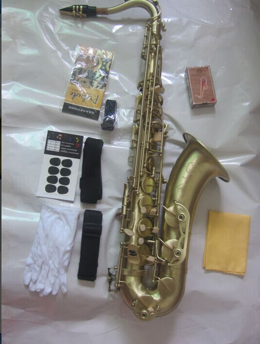 Tenor Saxophone France  Selmer 54  Bb Tenor Saxophone Instruments Reference 54 Bronze Antique Copper Tenor Sax tenor saxophone high quality selmer tenor sax bb 54 professional reference sax bronze musical instruments