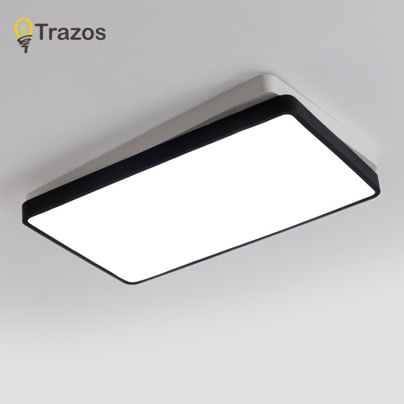 Modern ceiling lights for living room Bedroom hallway home ceiling lamp acrylic aluminum body LED ceiling Lamp Remote control