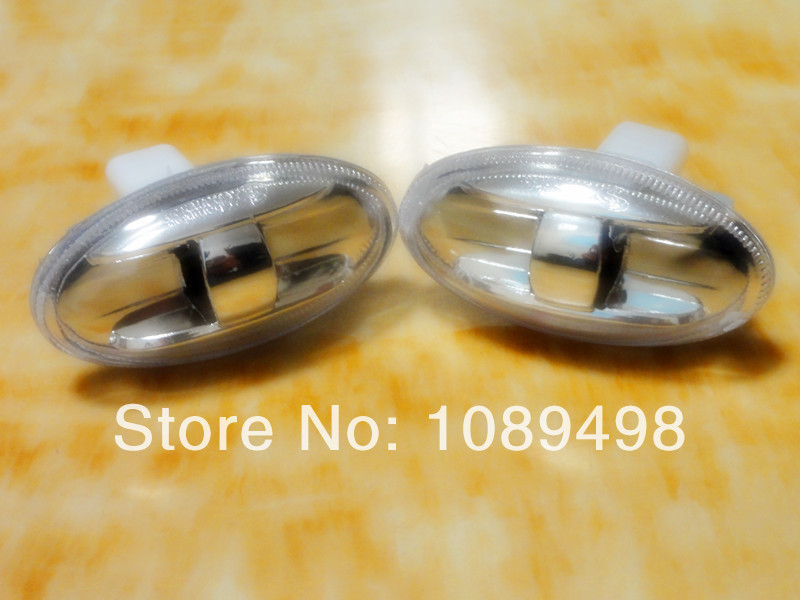 Auto Fender side lights lamps crystal turning lamp for 307 206 - Car Lights - Photo 1