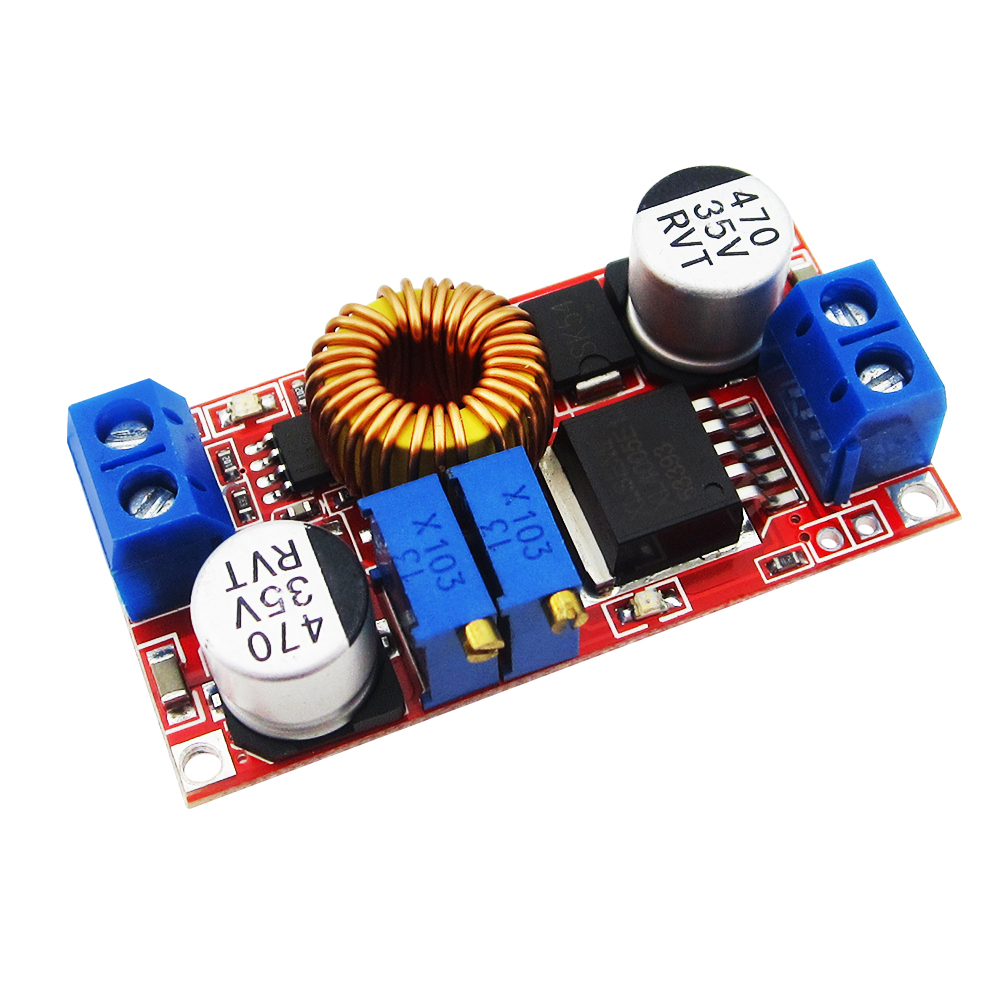 купить 1pcs  5A constant current LED driver module battery charging constant voltage DC-DC power module недорого