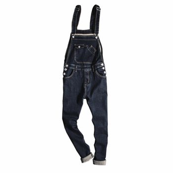 Men Women Denim Bib Overalls Casual Work Clothing Protective Coverall Denim Jumpsuits Uniforms Unisex Sleeveless Coveralls S-5XL