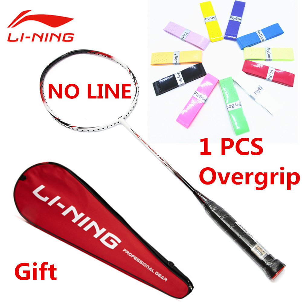 Genuine Li-Ning Professional Badminton Racket Full Carbon High Quality Li Ning Sport Racquet with Gifts and Bag L999OLB цена