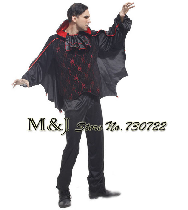 Men S Mysterious Vampire Bat Demon Costume For Cosplay Party Carnival Dark Devil Costumes In Holidays From Novelty Special Use On