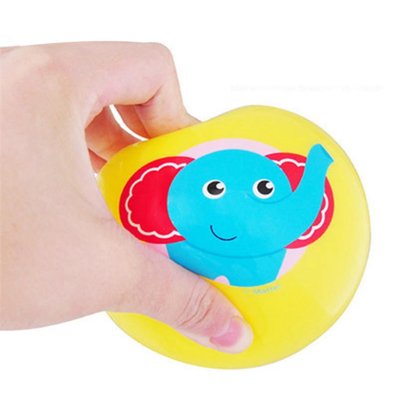 Baby Rattle Clapping Hands-on Development Ball Toy Cute Training Interest Animal Print Activity First Step Skills