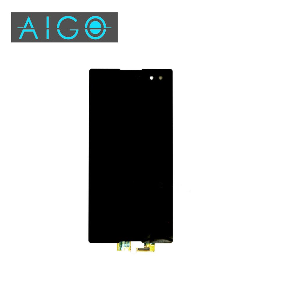 ФОТО Black For Sony Xperia C3 D2533 D2502 LCD display touch screen with digitizer assembly
