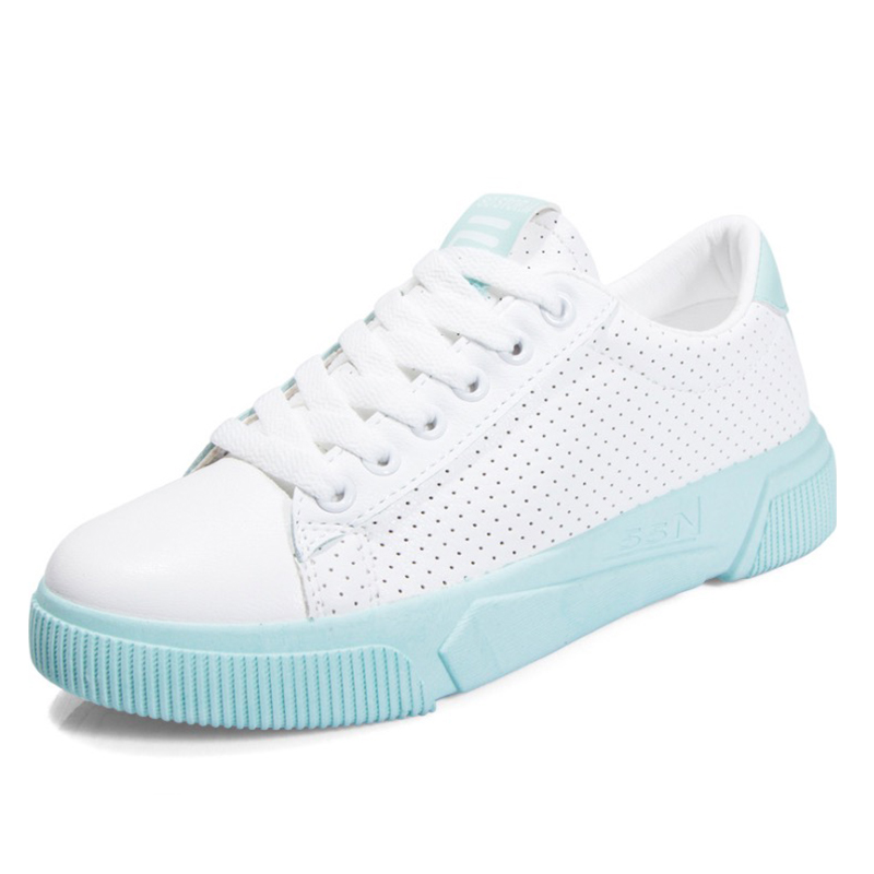 Women Sneakers Shoes 2019 Summer PU Leather Women Casual Shoes Flats Platform Breathable Ultralight Fashion White Women ShoesWomen Sneakers Shoes 2019 Summer PU Leather Women Casual Shoes Flats Platform Breathable Ultralight Fashion White Women Shoes