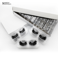 SHIDISHANGPIN 30 Pairs 3d Mink Lashes Natural Long False Eyelashes 3d Eyelashes Wholesale Fake Eyelashes Cilios For Maquiagem