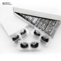SHIDISHANGPIN 30 Pairs 3d Mink Lashes Natural Long False Eyelashes 3d Eyelashes Wholesale Fake Eyelashes Cilios For Maquiagem