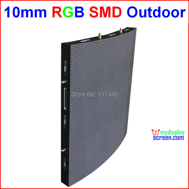 "P10 RGB outdoor led wall,  64cm x 64cm,25.2"" x 25.2"",smd new tech,wide view angle, led moving full color custom display signs"