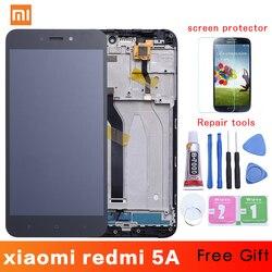 5.0 ''1280x720 wyświetlacz dla Xiaomi Redmi 5A LCD ekran dotykowy Digitizer z ramą Redplacement części dla Redmi 5a wyświetlacz LCD