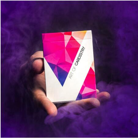 2 Color Art Of Cardistry Playing Cards Limited Edition Flower Cut Collection Magic Poker Cards Magic Tricks