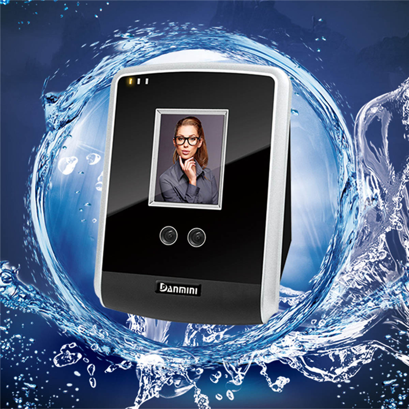 DANMINI Biometric Facial Face Recognition Device Access Control System Time Clock Recorder Employee Digital Attendance Machine face recognition attendance machine facial recognition 500 users employee attendance management