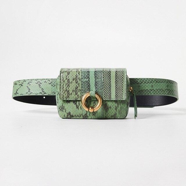 82e646a991fb7d Talii torba kobiet fanny pack belt bag luksusowe marki fashion nowa kobieta  torba python pojedyncze ramię