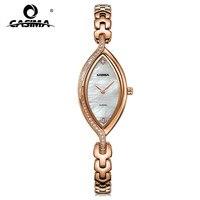 CASIMA Relojes Mujer 2016 Luxury Brand Bracelet Watches Women Fashion Casual Ladies Quartz Watch Stainless Steel