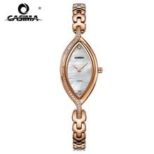 Marca de moda de lujo Pulsera de Las Mujeres Relojes casual ladies reloj de cuarzo CASIMA relojes mujer relojes de acero inoxidable a prueba de agua #2609