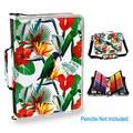 Kawaii caja de lápiz Linda DE LA ESCUELA 160 agujeros 3 capas grandes Penal lápiz profesional Pen bolsa papelería bolsa para pintura