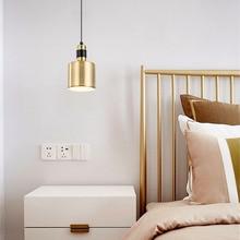 Moern Lustre Metal Pendant Lights Master Bedroom Loft Lamp Led Living Room Study  De Light Fixtures Art