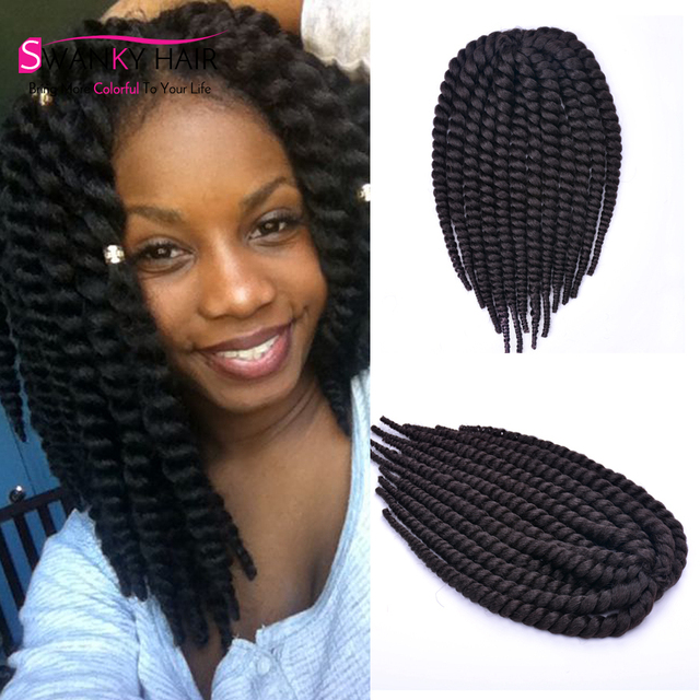 Kanekalon Havanna Mambo Twist 12 Inch 2x Box Braids Crochet Braids