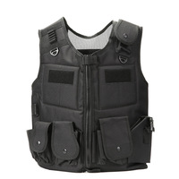 HYBON Reflective Tactical Vest Self Defense Supplies Military Molle Plate Carrier Airsoft Paintball CS Protective JPC Vest
