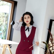 8aff63ee0e5d5 Buy formal uniform professional waistcoat vest and get free shipping ...
