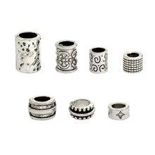 QIHE JEWELRY 7pcs/set Viking beads Beads for Hair Braid Beard Mustache Dreadlock Viking jewelry Norse jewelry Unisex Accessories