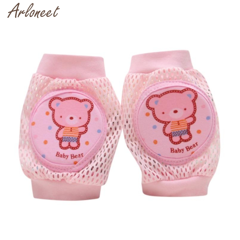 2017 Cartoon Baby Safety Crawling Elbow Cushion Toddlers Knee Pads Protective Gear Little Bear Aug 15 Fantasy